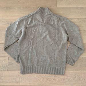Lacoste Sweaters - MENS Lacoste Wool Cotton Half Zip Sweater